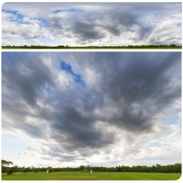 Rainy Clouds 2788 (30k) HDRI Panoramas