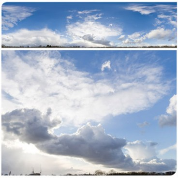 Rainy Clouds 2858 (60k) HDRI Panoramas
