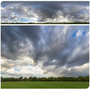 Rainy Clouds 2943 (58k) Panoramas