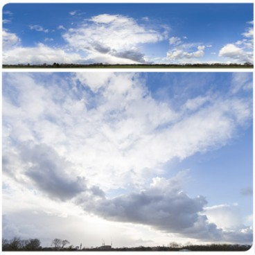 Rainy Clouds 3047 (60k) HDRI Panoramas