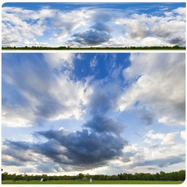 Rainy Clouds 3069 (30k) HDRI Panoramas