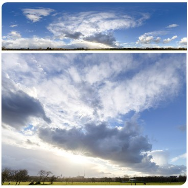 Rainy Clouds 3197 (30k) HDRI Panoramas