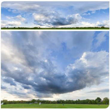 Rainy Clouds 3219 (30k) HDRI Panoramas