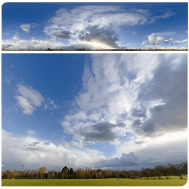 Rainy Clouds 3281 (30k) HDRI Panoramas