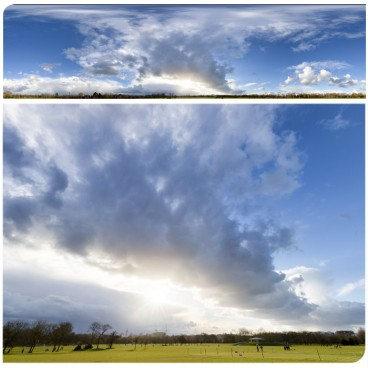 Rainy Clouds 3350 (30k) HDRI Panoramas