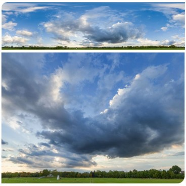 Rainy Clouds 3379 (30k) HDRI Panoramas