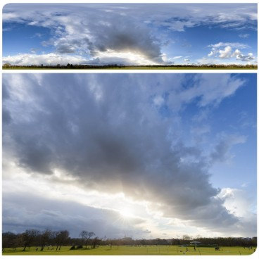 Rainy Clouds 3428 (30k) HDRI Panoramas