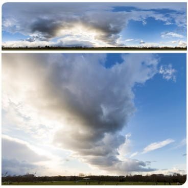 Rainy Clouds 3563 (30k) HDRI Panoramas