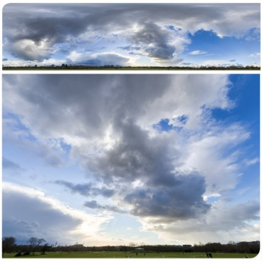 Rainy Clouds 3608 (30k) HDRI Panoramas