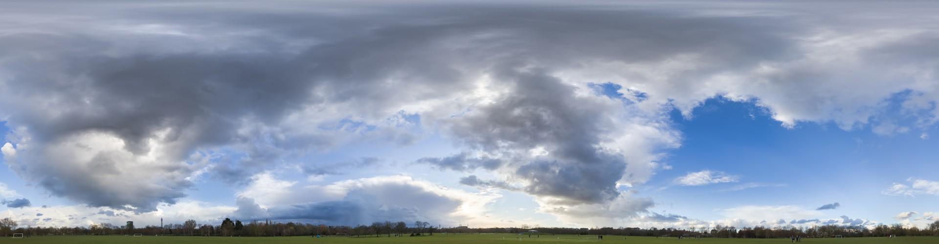 Rainy Clouds 3608 (30k) HDRI