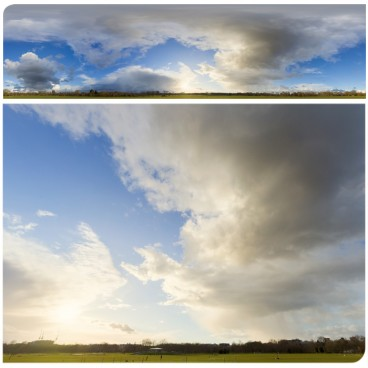 Rainy Clouds 3692 (30k) HDRI Panoramas