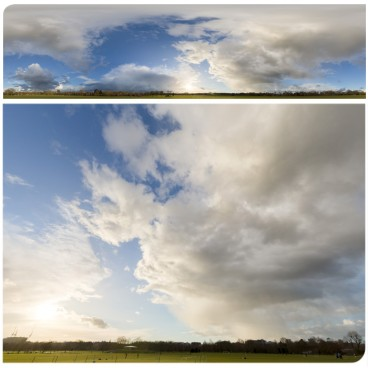 Rainy Clouds 3761 (30k) HDRI Panoramas