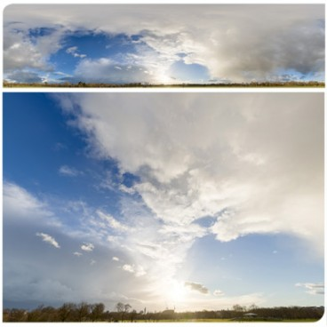Rainy Clouds 3899 (60k) HDRI Panoramas