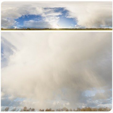 Rainy Clouds 4040 (60k) HDRI Panoramas