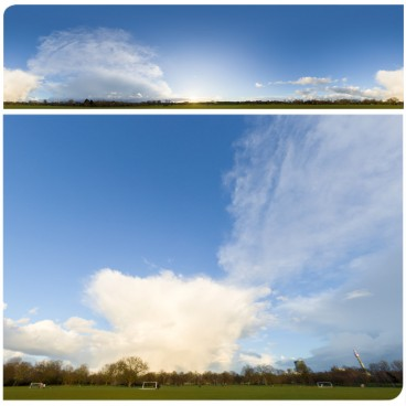 Rainy Clouds 4484 (30k) HDRI Panoramas