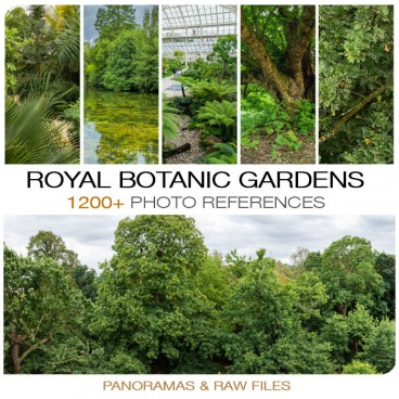 Royal Botanic Gardens Photo Packs