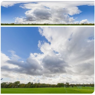 Stormy Clouds 5385 (30k) HDRI Panoramas