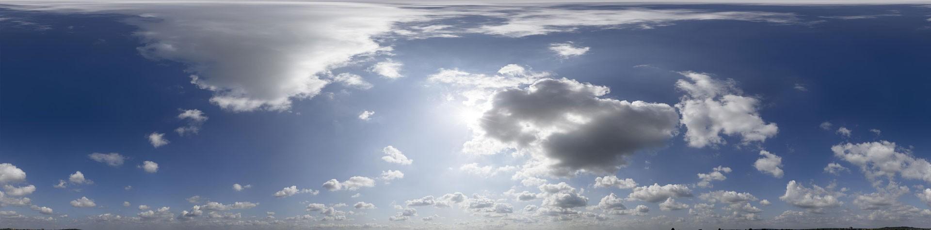 Sunny & Cloudy (30k) HDRI