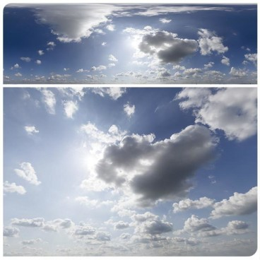Sunny & Cloudy HDRI