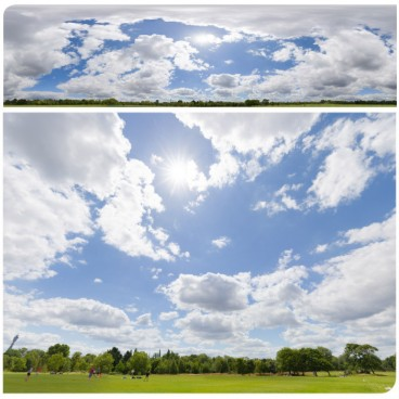 Sunny Clouds 7108 (30k) HDRI Panoramas