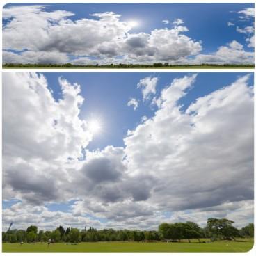 Sunny Clouds 7739 (30k) HDRI Panoramas