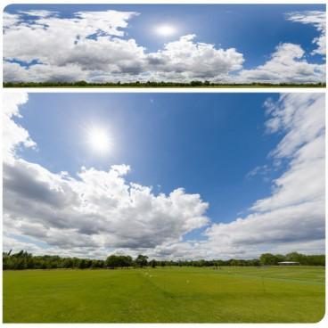 Sunny Clouds 7894 (30k) HDRI Panoramas