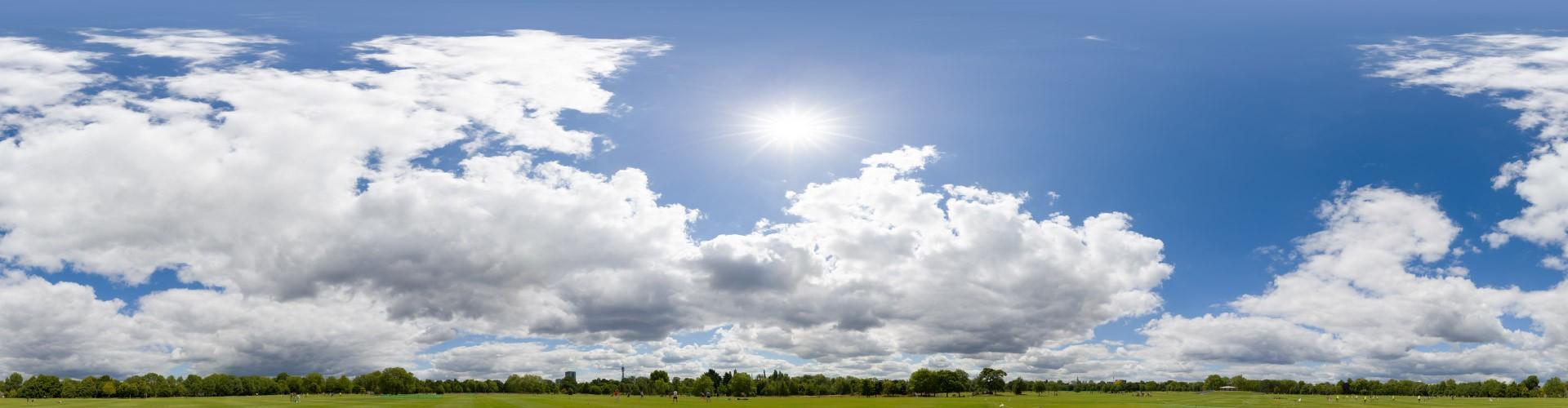 Sunny Clouds 7894 (30k) HDRI