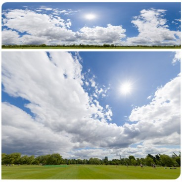 Sunny Clouds 8059 (30k) HDRI Panoramas
