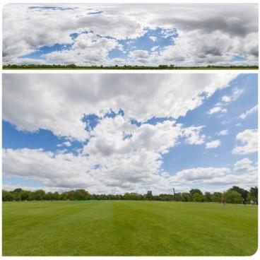 Sunny Cloudy 7243 (30k) HDRI Panoramas