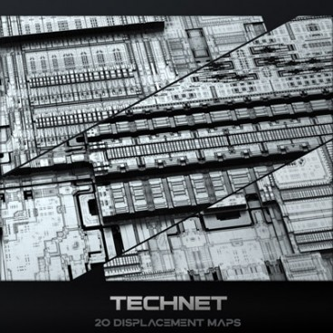 Technet - Displacement Maps Pack
