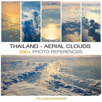 THAILAND - AERIAL CLOUDS