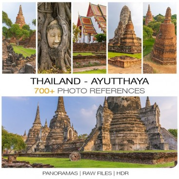 Thailand - Ayutthaya Photo Packs
