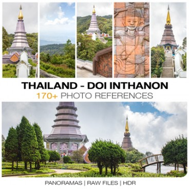 Thailand - Doi Inthanon Photo Packs