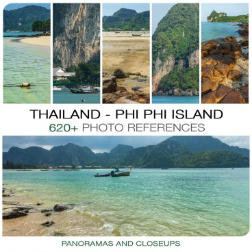 Thailand - Phi Phi Island  Photo Packs