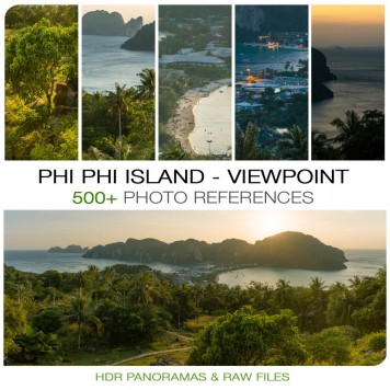 Thailand - Phi Phi Island Viewpoint Photo Packs