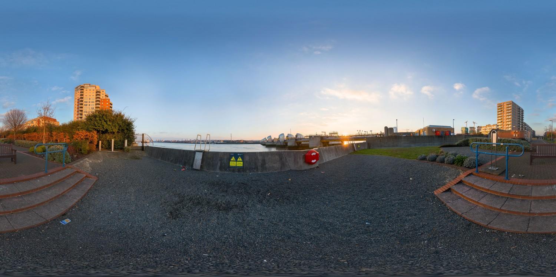 Thames Barrier (30k) HDRI