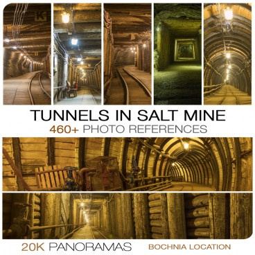 TUNNELS IN SALT MINE