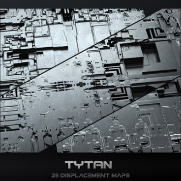 Tytan - Displacement Maps Pack