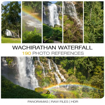 Wachirathan Waterfall - Thailand Photo Packs